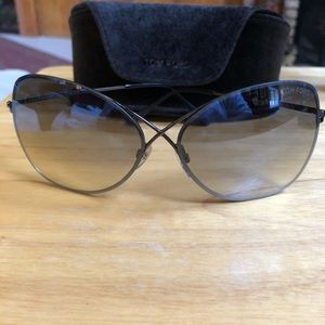 Tom Ford Ladies Colette sun glasses